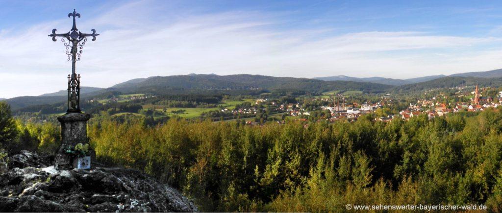 Ausflugstipps Zwiesel der Aussichtspunkt Einsiedeleifelsen